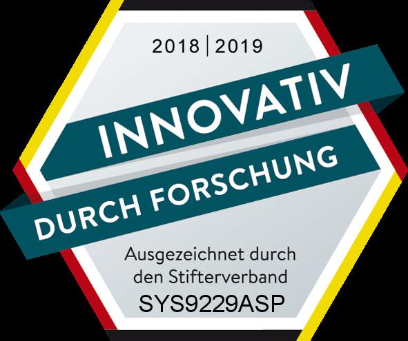 Innovativ durch Forschung Auszeichnung