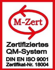 ISO Zertifiziert | M-Zert