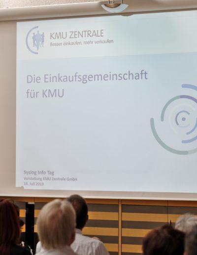 Vortrag: KMU-Zentrale